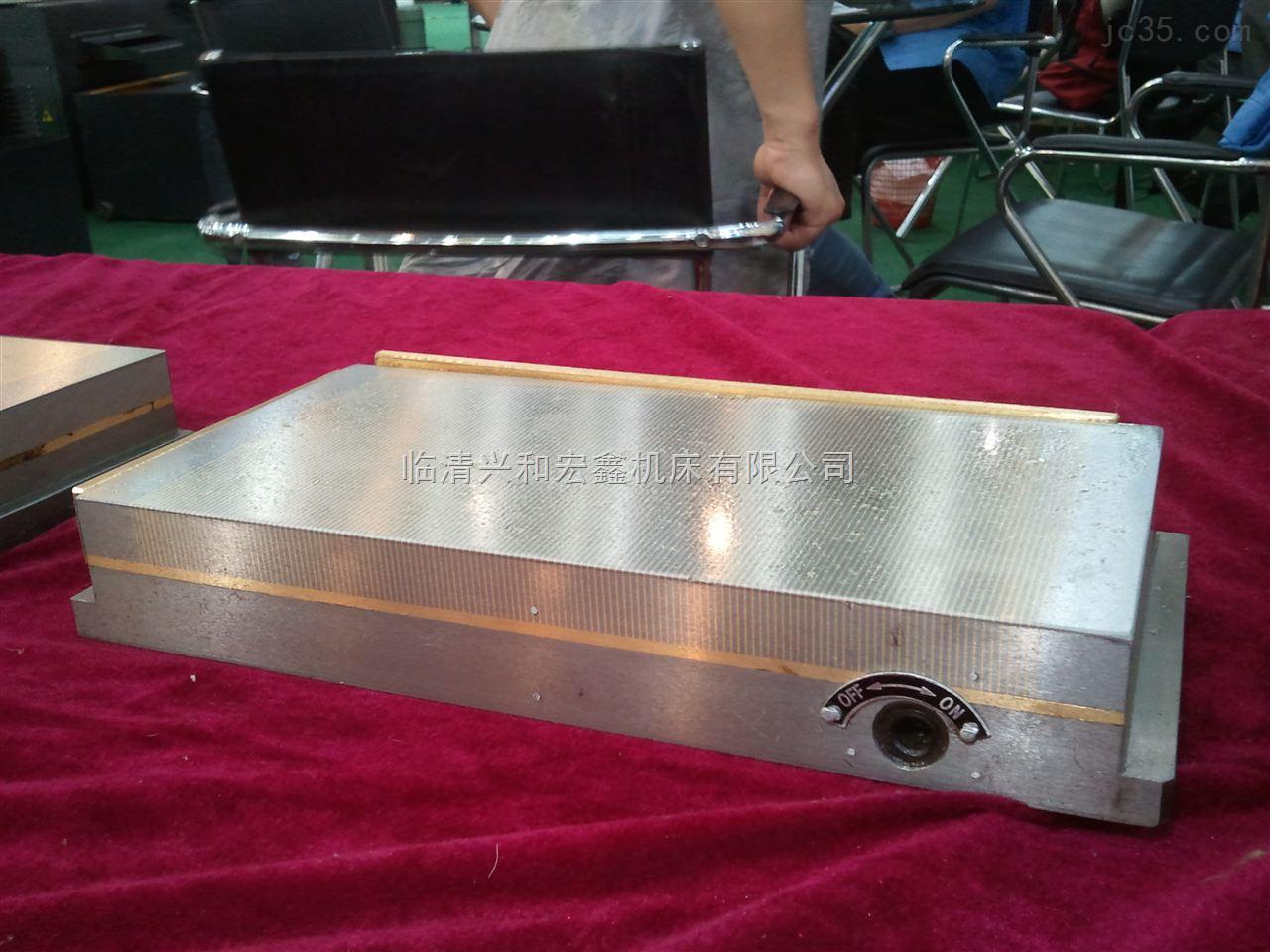 运河牌强力密极永磁吸盘XM91125*250