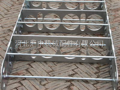 TL225机床钢铝拖链,坦克链,铝板材加钢棍