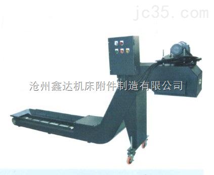 低噪音链板式排屑器