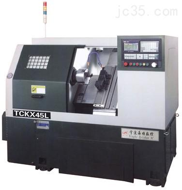 TCKX45L斜床身数控车系铣复合机,车铣复合机