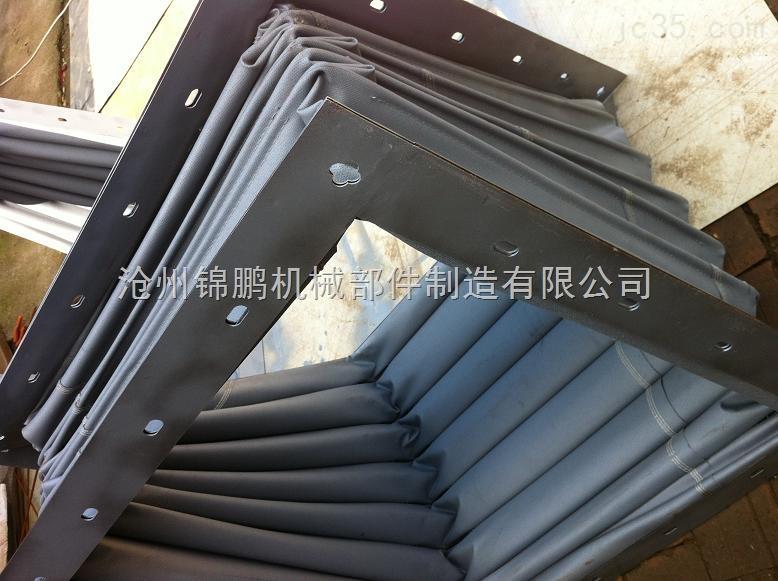 大口径矩形帆布软连接厂家