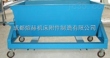 自卸式铁屑车专业定做厂家产品图片