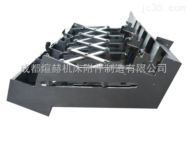 特殊钢板制作的伸缩式护罩产品图片