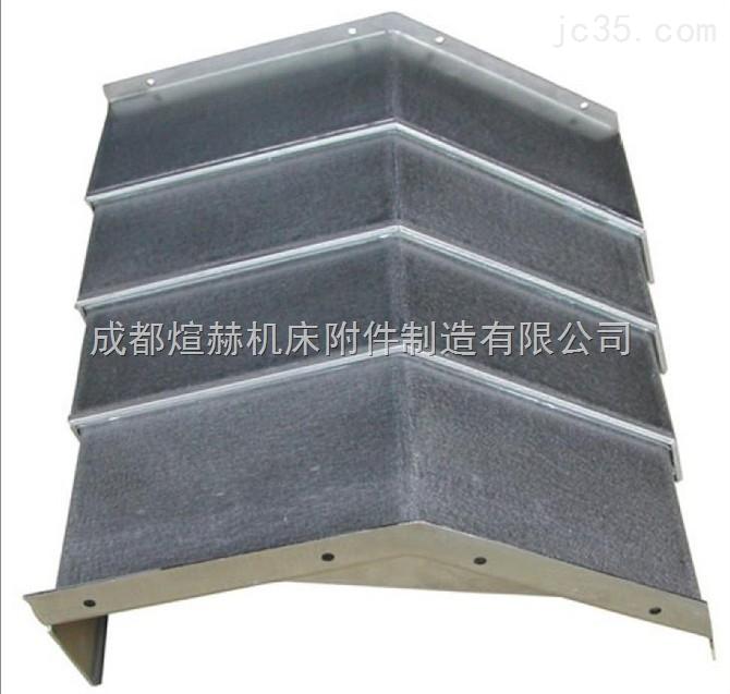 钢板伸缩式护罩四川公司 机床导轨护罩定制产品图片