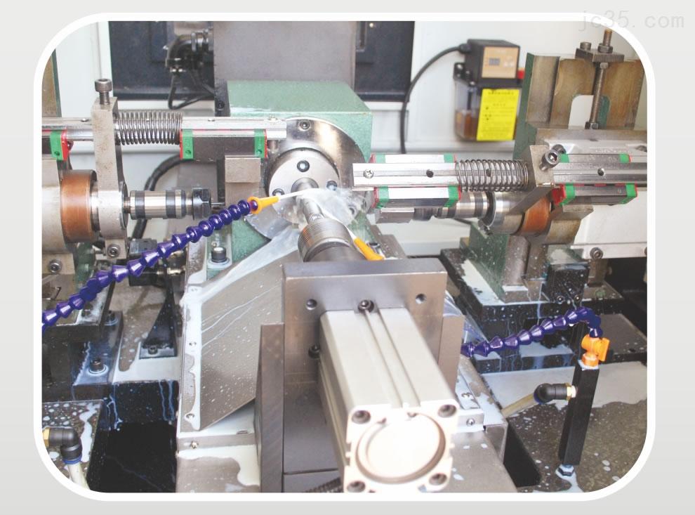 双面卧式数控分度数控滑台式钻孔专机