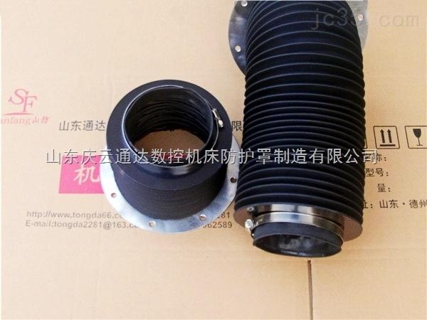山东通达圆形风琴式丝杆防护罩,丝杆密封保护套专业生产