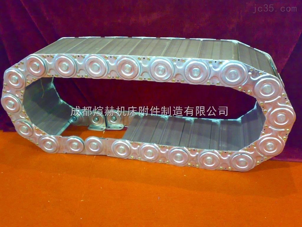 TL95钢铝拖链设计 不锈钢链条定做 工程拖链超长质保产品图片