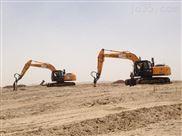 装载机改装建筑挖坑机