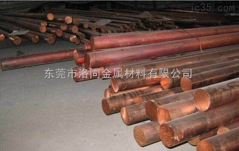 现货TU2紫铜棒。T1红铜方棒价格