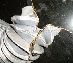 防水耐磨拉链式帆布防尘罩-粘扣式油缸防尘罩