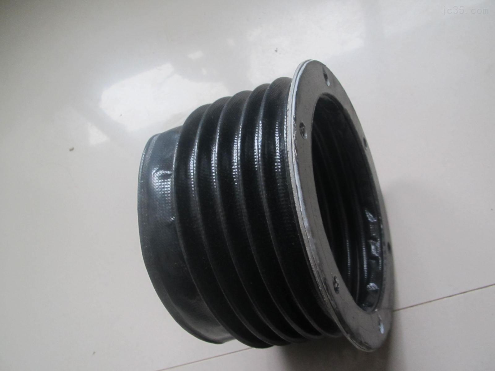 黑色变径油缸伸缩保护套