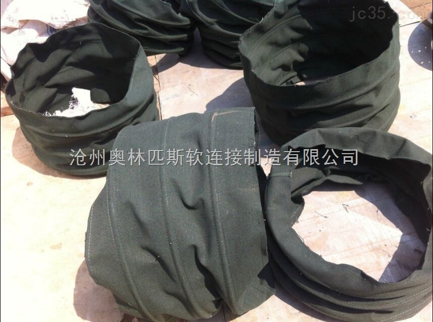 塑料颗粒输送帆布软连接,耐磨性能