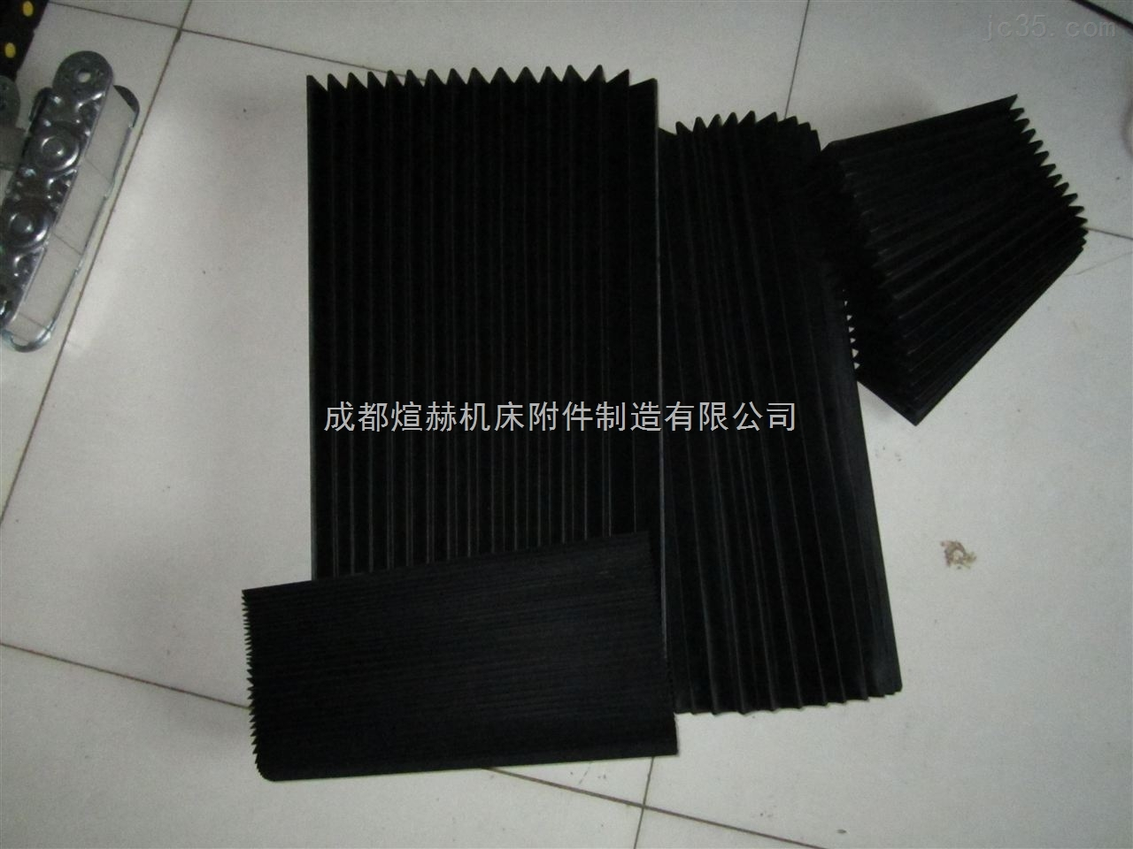 供应风琴式导轨防护罩生产公司分秒产品图片
