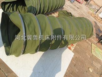 高温涂布机耐磨伸缩式帆布软连接