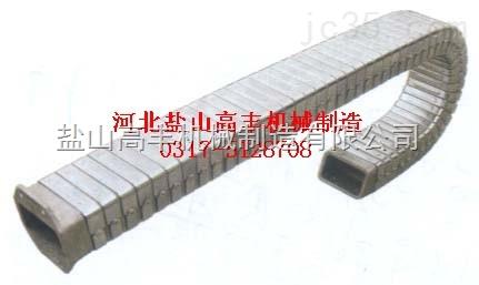 钢制金属软管 矩形金属软管 标制造