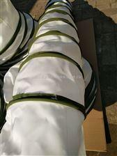 军绿色帆布风机软连接