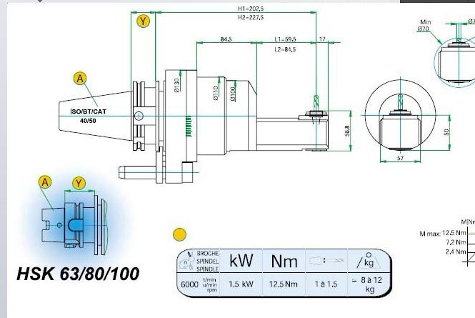 铣头 cdp 07 l1/l2/l3/l直角铣头  cdp 07 l1/l2/l3/l直角铣头的结构
