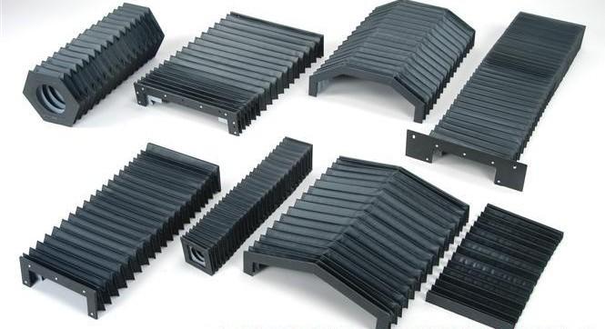 机床防尘罩 风琴式防尘罩产品图