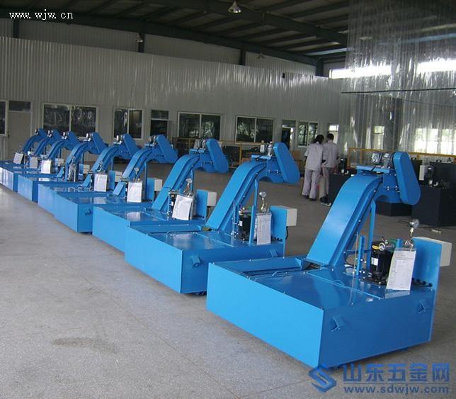 机床排屑机厂家产品图