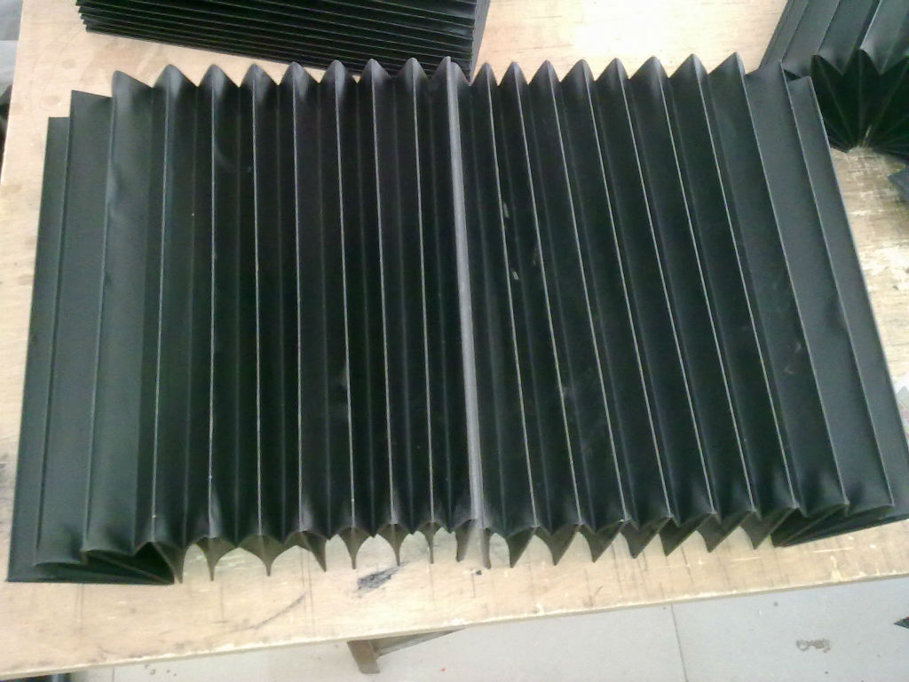 直线导轨风琴防护罩产品图