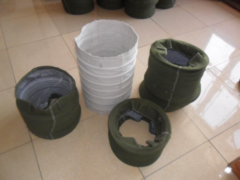 粉尘输送水泥伸缩布袋产品图