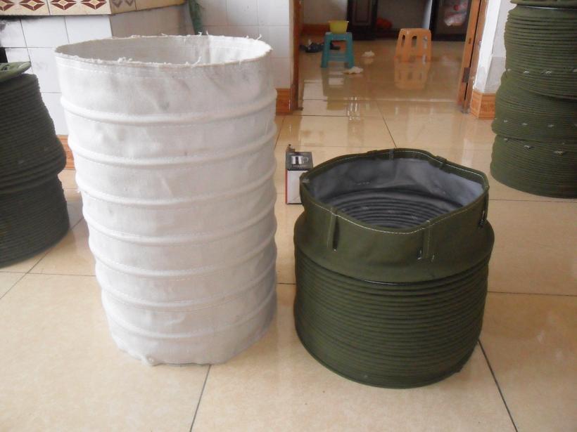 水泥卸料口伸缩布袋产品图