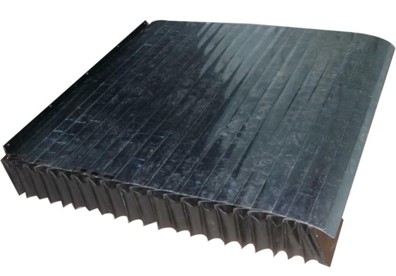 带铁片式风琴防护罩产品图