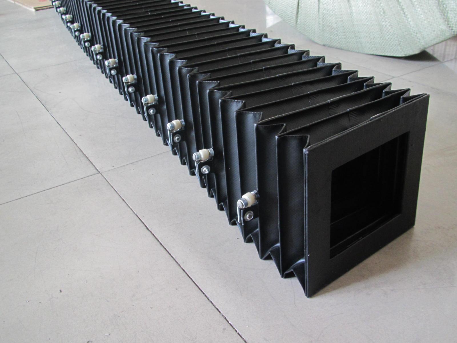 运输机械风琴防护罩产品图